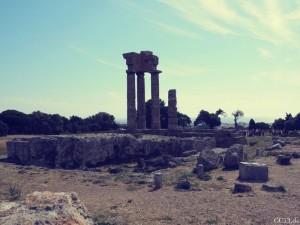 Rhodos Stadt Akropolis